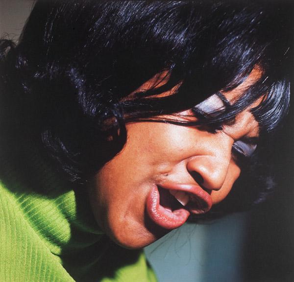 Aretha Franklin photo by Lee Friedlander 1968