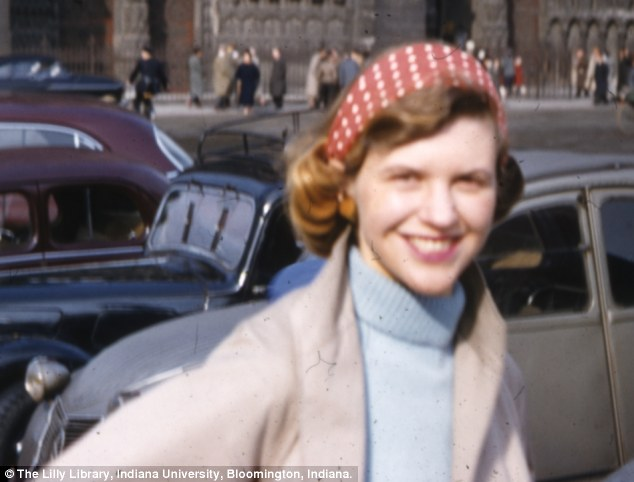 Sylvia Plath colour 1956