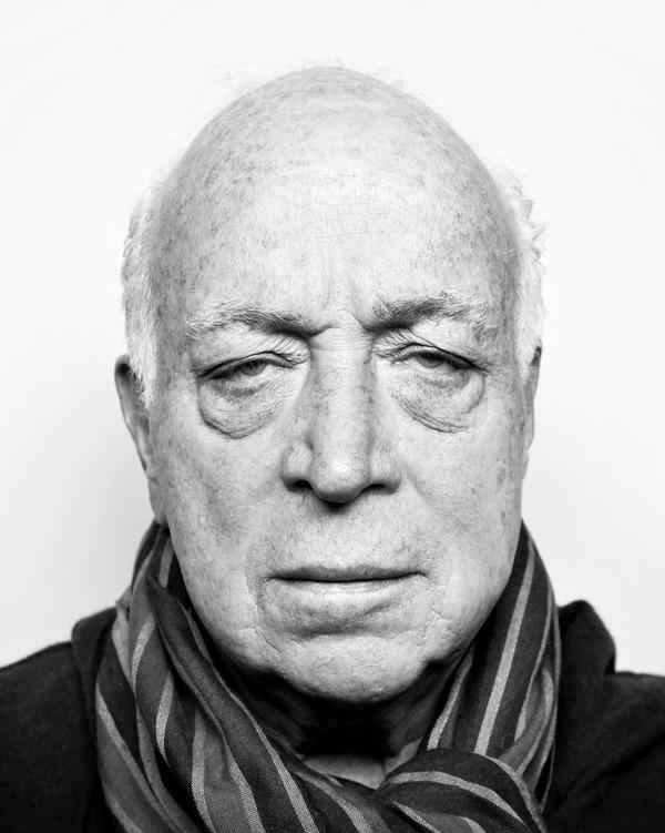 Seymour Stein black and white portrait