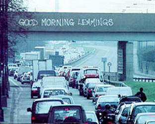 Good_morning_lemmings_graffiti