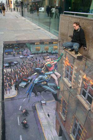 Batman_and_robin_sidewalk_art