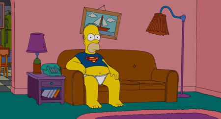 Homer_simpson_on_couch_in_superman_
